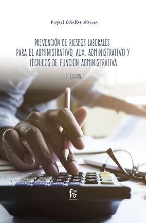 PREVENCION DE RIESGOS LABORALES PARA ADMINISTRATIVOS,