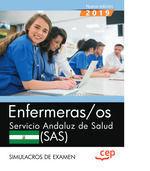 ENFERMERAS/OS SERVICIO ANDALUZ SALUD SIMULACROS EXAMEN