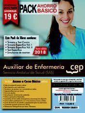 PACK AHORRO BASICO AUXILIAR ENFERMERIA SERVICIO ANDALUZ