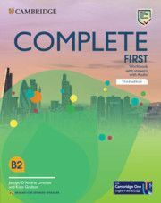 COMPLETE FIRST WORKBOOK WITH ANSWERS WITH AUDIO EN