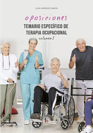 TEMARIO ESPECÍFICO DE TERAPIA OCUPACIONAL-VOLUMEN I