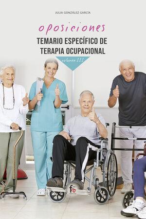TEMARIO ESPECÍFICO DE TERAPIA OCUPACIONAL-VOLUMEN III
