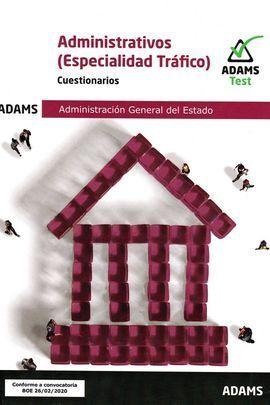 ADMINISTRATIVOS (ESPECIALIDAD TRAFICO) -CUESTIONARIOS