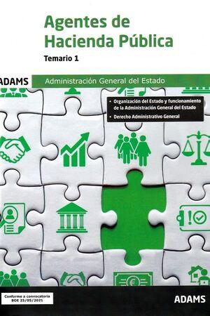 TEMARIO 1 AGENTES DE HACIENDA PÚBLICA