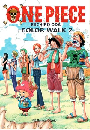ONE PIECE COLOR WALK Nº 02