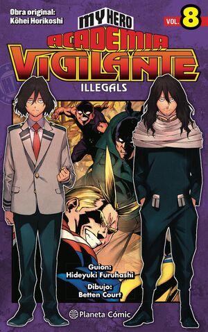 MY HERO ACADEMIA VIGILANTE ILLEGALS Nº 08