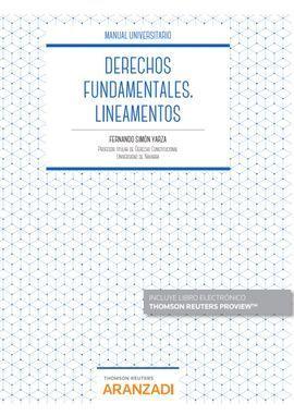 DERECHOS FUNDAMENTALES. LINEAMENTOS (PAPEL + E-BOOK)