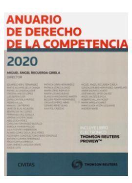 ANUARIO DE DERECHO DE LA COMPETENCIA 2020 DUO