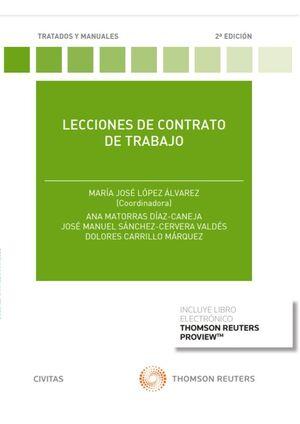 LECCIONES DE CONTRATO DE TRABAJO