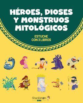 HÉROES, DIOSES Y MONSTRUOS MITOLÓGICOS