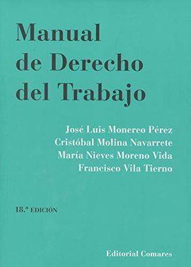 MANUAL DE DERECHO DEL TRABAJO 18'ED