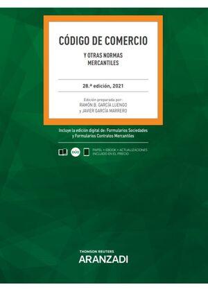 CODIGO DE COMERCIO Y OTRAS NORMAS MERCANTILES