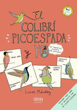 COLIBRI PICOESPADA Y YO,EL
