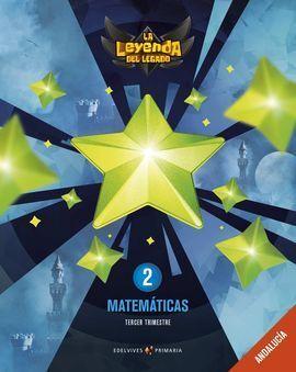 PROYECTO: LA LEYENDA DEL LEGADO. MATEMÁTICAS 2: ANDALUCÍA. TRIMESTRES