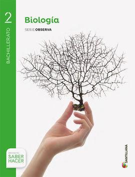 BIOLOGÍA 2 BACHILLERATO SERIE OBSERVA