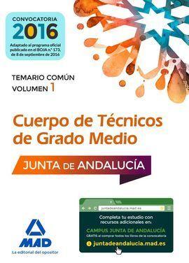 CUERPOS DE TÉCNICOS DE GRADO MEDIO DE LA JUNTA DE ANDALUCÍA.
