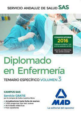 V.3 DIPLOMADO EN ENFERMERIA TEMARIO ESPECIFICO SAS