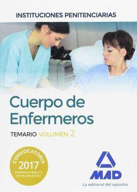 TEMARIO VOL 2 CUERPO ENFERMEROS INSTITUCIONES PENITENCIARIAS