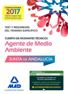 CUERPO DE AYUDANTES TÉCNICOS ESPECIALIDAD AGENTES DE MEDIO AMBIENTE. TEST Y RESÚ