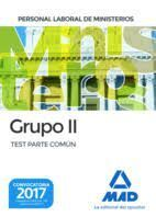 TEST PERSONAL LABORAL MINISTERIOS GRUPO I