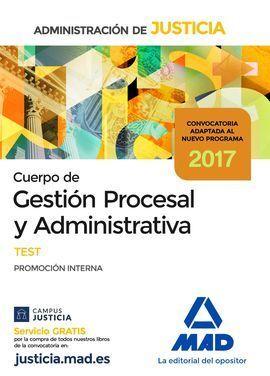CUERPO DE GESTIÓN PROCESAL Y ADMINISTRATIVA DE LA ADMINISTRACIÓN DE JUSTICIA (PR