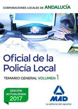 TEMAGIO GENERAL VOL 1 OFICIAL DE LA POLICIA LOCAL