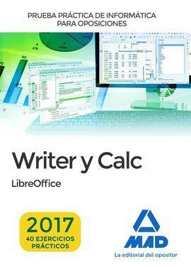 PRUEBA PRÁCTICA DE INFORMÁTICA WRITER Y CÁLCULO