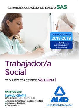 TRABAJADOR/A SOCIAL VOLUMEN 1 DEL SAS