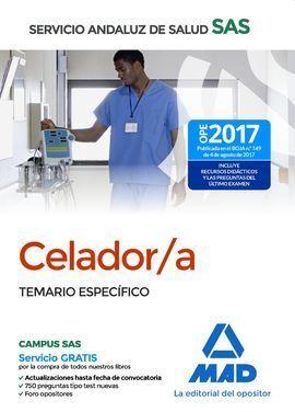 CELADORES: TEMARIO ESPECIFICO SERVICIO ANDALUZ SALUD