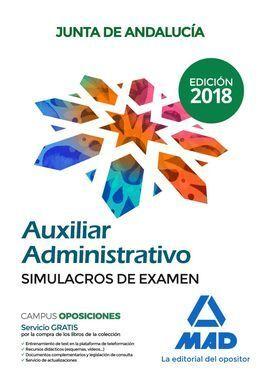 AUXILIAR ADMINISTRATIVO JUNTA DE ANDALUCIA SIMULACROS EXAME