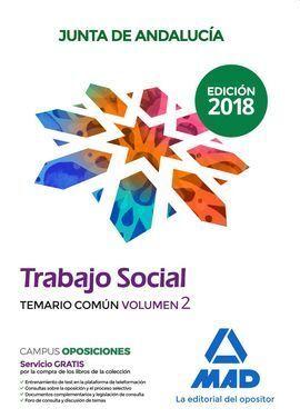 TRABAJADOR SOCIAL - TEMARIO COMUN VOLUMEN 2