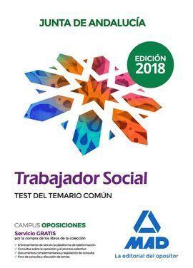 TEST DEL TEMARIO COMUN TRABAJADOR SOCIAL JUNTA DE ANDALUCIA