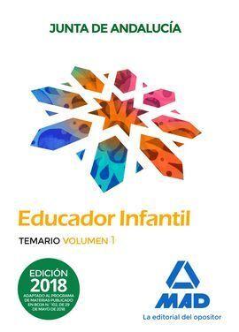 EDUCADOR INFANTIL TEMARIO VOLUMEN 1