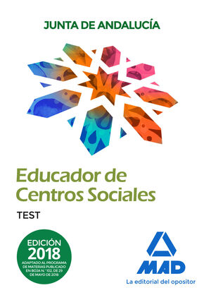 EDUCADORES DE CENTROS SOCIALES. PERSONAL LABORAL DE LA JUNTA DE ANDALUCÍA. TEST