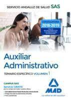AUXILIAR ADMINISTRATIVO 2018 SAS SERVICIO ANDALUZ SALUD