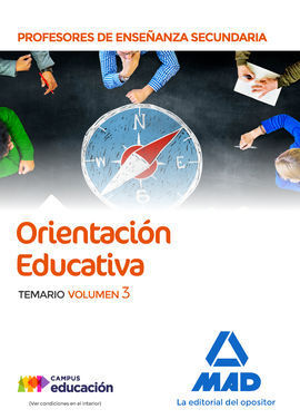 ORIENTACION EDUCATIVA VOL 3 PROFESOR SECUNDARIA