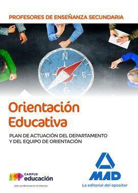 ORIENTACION EDUCATIVA PLAN ACTUACION SECUNDARIA