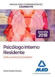 SIMULACROS DE EXAMEN PSICÓLOGO INTERNO RESIDENTE