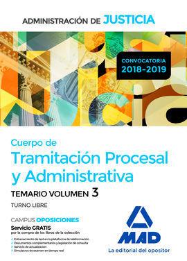 CUERPO DE TRAMITACIÓN PROCESAL Y ADMINISTRATIVA (TURNO LIBRE) DE LA ADMINISTRACI