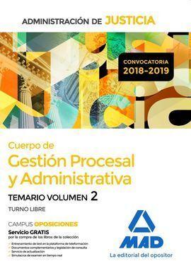 TEMARIO 2 GESTION PROCESSAL Y ADMINISTRATIVA