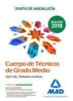CUERPO DE TECNICOS DE GRADO MEDIO JUNTA ANDALUCIA TEST TEMARIO COMUN