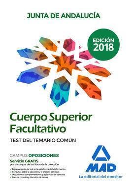 CUERPO SUPERIOR FACULTATIVO TEST COMUN JUNTA ANDALUCIA