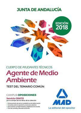 CUERPOS DE AYUDANTES TÉCNICOS ESPECIALIDAD AGENTES DE MEDIO AMBIENTE DE LA JUNTA
