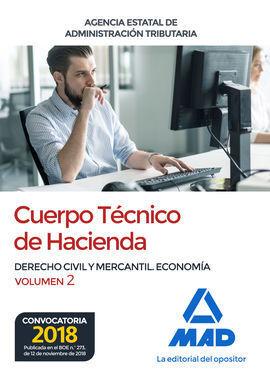 CUERPO TÉCNICO DE HACIENDA. AGENCIA ESTATAL DE ADMINISTRACIÓN TRIBUTARIA. DERECH