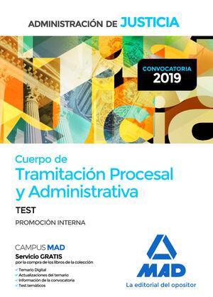 CUERPO DE TRAMITACIÓN PROCESAL Y ADMINISTRATIVA (PROMOCIÓN INTERNA) DE LA ADMINI