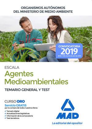 ESCALA DE AGENTES MEDIOAMBIENTALES DE ORGANISMOS AUTÓNOMOS DEL MINISTERIO DE MED