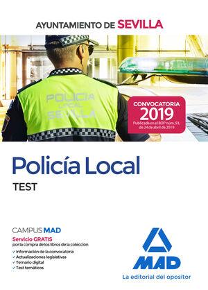 POLICÍA LOCAL : AYUNTAMIENTO DE SEVILLA : TEST