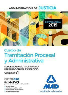 TRAMITACION PROCESAL SUPUESTOS 2 EJERCICIO VOLUMEN 1