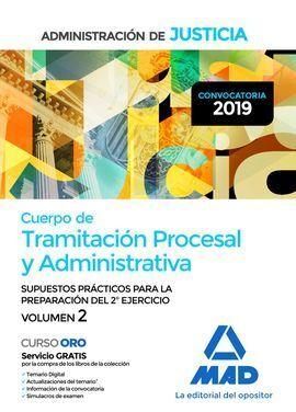TRAMITACION PROCESAL SUSPUESTOS 2 EJERCICIO VOLUMEN 2