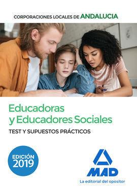 EDUCADORES;AS SOCIALES 2019 CORPORACIONES LOCALES ANDALUCIA